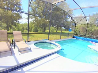 Executive 7BR/4.5Bath home near DisneyWorld with Pool/SPA/Game Room