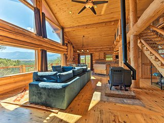 NEW! 19-Acre Buena Vista Cabin w/Mtn Views & Grill