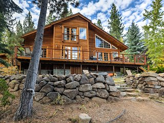NEW! Lakefront Tahoe City Home w/ Private Beach!