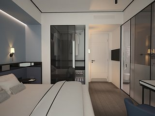The Westist Hotel Pera Smart Room Queen Bed 5