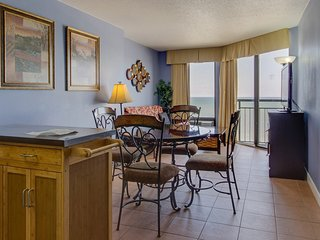 Oceanfront Suite with Private Balcony | Gym, Pools, + Hot Tubs Access