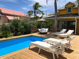 Villa MOJITO, charming home steps from the beach