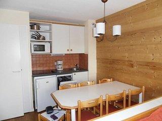 Tres bel appartement au pied des pistes de 3 pieces pour 7 personnes de   45 m2