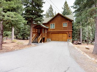 Dog-friendly gorgeous wood home w/ deck, fireplaces, near trails, skiing & town