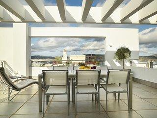 the coolest loft and terrace-varkiza sea view