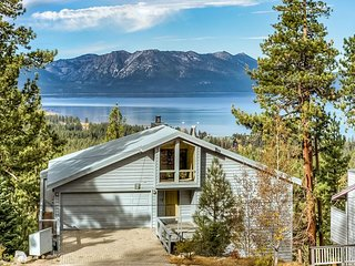 Rare 4BR Home on South Lake Tahoe w/ Lake Views!