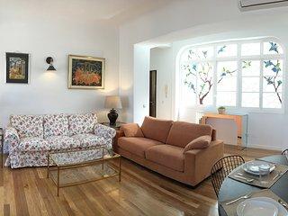 Vive Málaga, junto a la catedral, 4 comodas habitaciones y 2 baños