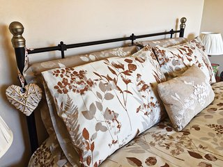 Your relaxation starts here....Beautiful linens...