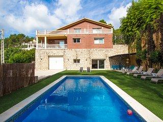 Catalunya Casas: Villa Starlight con capacidad para 11 personas, a solo 14 km de