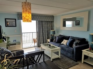 Must See - Beautiful Oceanfront Condo On The Boardwalk - Private Balcony!