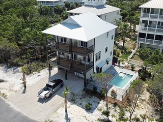Brand New! Gulf View! Private Pool! 2 Family Rooms!