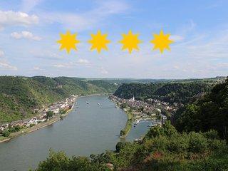 4 Sterne Ferienwohnung Rheinsteig Loreley