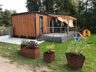 Luxus Mobilheim Ferienhaus Bungalow am Murner See (Bayern, Oberpfalz, Seenland)