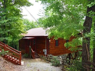 WHITETAIL RETREAT CABIN- 2BR/2BA , Sleeps 4, Newly Renovated, Exquisite Cabin De