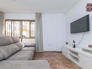 Apartamento a 40m de la playa con wifi, 2 dormitorios