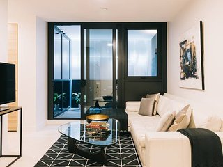 Stylish Melbourne Pad with Pool, Gym & Parking