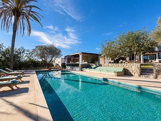 Dreamlike old finca with 6 bed rooms- big swimming pool in an idyllic setting