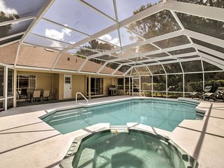 Upscale Titusville Home w/ Pool+Spa on Golf Course