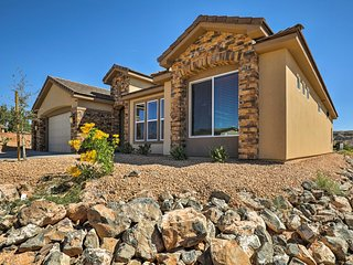 NEW! Mtn. View Home 30 Mins to Zion National Park