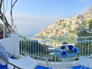Sea-view terrace in Positano 1