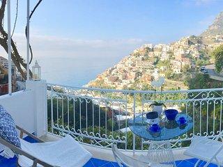 Sea-view terrace in Positano 1