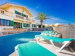 Porto Colom, villa con piscina x 10 pax