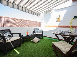 Oscar Apartments Sol, Atico con terraza en el centro