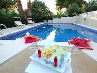 Villa Azzurra con piscina