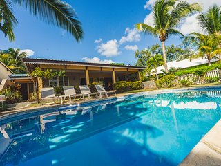 Beachfront 4 Bedrooms Villa in Trou aux Biches