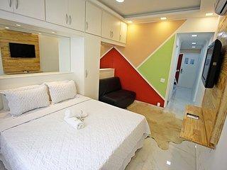 Apartamento para temporada econômico no Rio de Janeiro C034