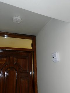 smoke detector and carbon monoxide detector