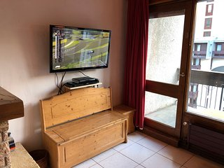 TV with Sky & DVD player