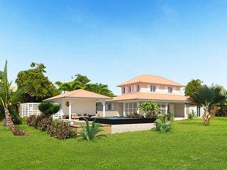 Villa de luxe, 5 chambres avec piscine privee et jacuzzi, ideale en famille