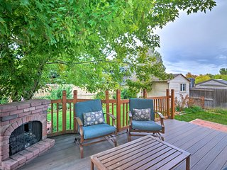 NEW! Cozy Denver Home w/Deck- 15 Mi. From Downtown