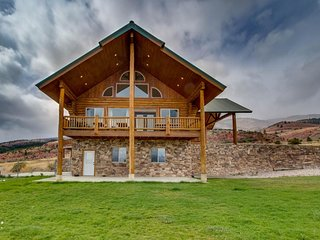NEW LISTING! Tranquil & peaceful mountain vacation cabin w/lake view on 44 acres