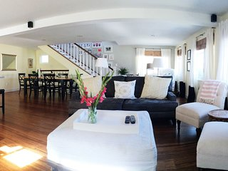 Spacious 4-bedroom home less than a block from Beach!
