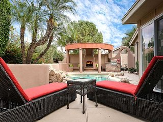 NEW LISTING with Putting Green, Pool, Fireplace, BBQ, & Waterfall in Backyard