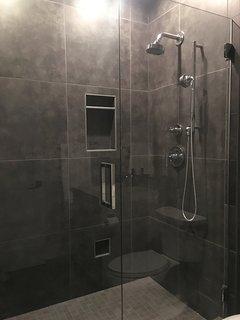 KOHLER Inspired Guest Bathroom on the Second Level