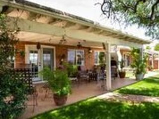Hacienda-style high above city hills, holiday rental in Nogales