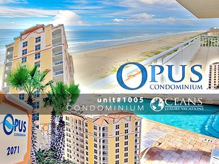 Nov Specials! Opus Condo - Ocean & River View - 3BR/2BA #1005