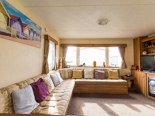 6 Berth caravan, close to play area. D/G & C/H. Ref 50019 Curlew area
