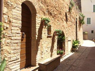 Delizioso appartamento tra i vicoli medievali di Trevi.