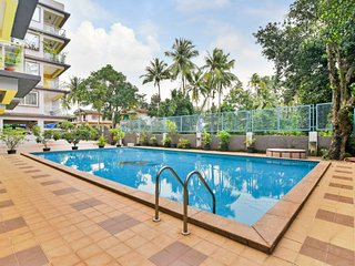 Elegant 2 BHK with a pool, near Candolim Beach