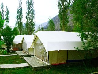 Tent accommodation for 3
