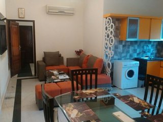 Well-appointed 3 BHK for a group stay