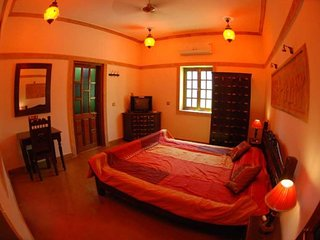 Heritage room for three, near Gadisar Lake
