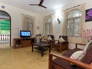 Pleasant 2-BR villa, near Calangute Beach