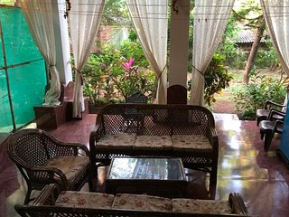 2 BR Moderate Villa,Situated 3.1 km From Anjuna Beach