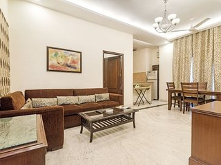 Elegantly furnished 2 BHK for a plush stay