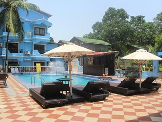 Restful room for three, close to Baga Beach